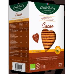 Tartines cacao