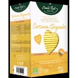 Tartines curcuma gingembre