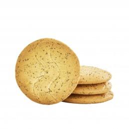 Biscuits orange pavot