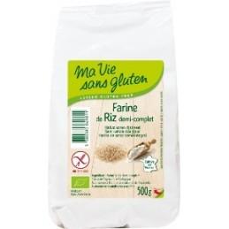 Farine riz 1\2 complet