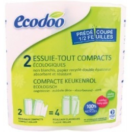 Essuie-tout compact recycle