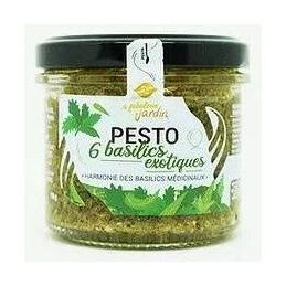 Pesto 6 basilics exotiques