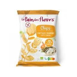 Chips lentilles oignons