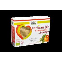 Tartines courge ss gluten