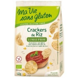 Crackers riz h olive
