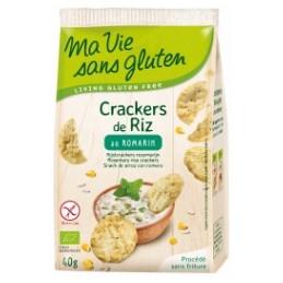 Crackers riz romarin