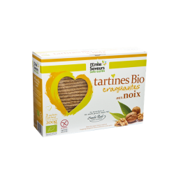 Tartines noix ss gluten