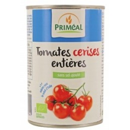 Tomates cerises entieres