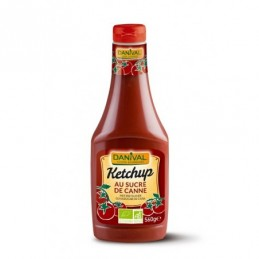Ketchup sucre canne