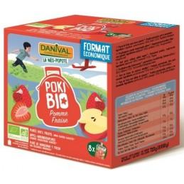 Pokibio pommes fraises