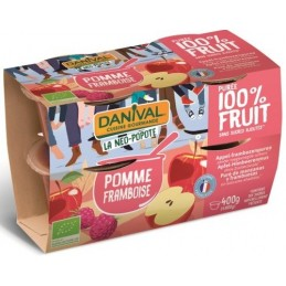 Compote pomme framb