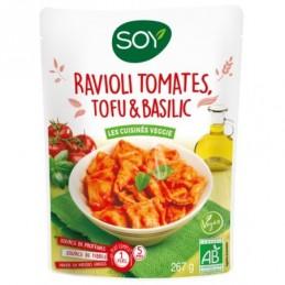 Ravioli tofu tomates