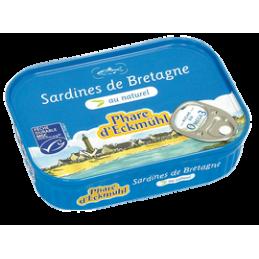 Filets sardine nature