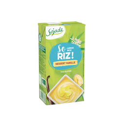 Dessert riz vanille